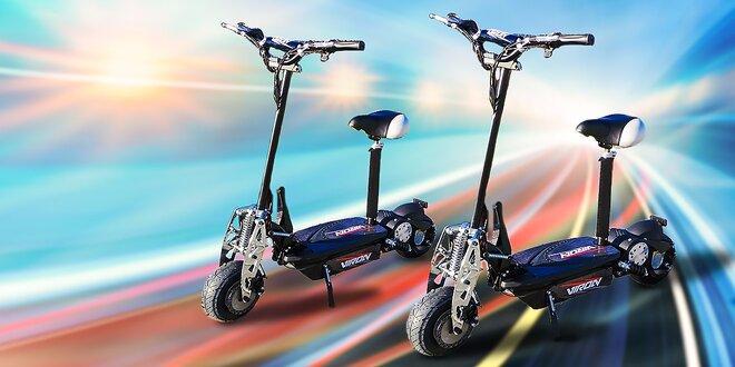 Štýlovo na dvoch kolesách! Kolobežka e-scooter 800 W!