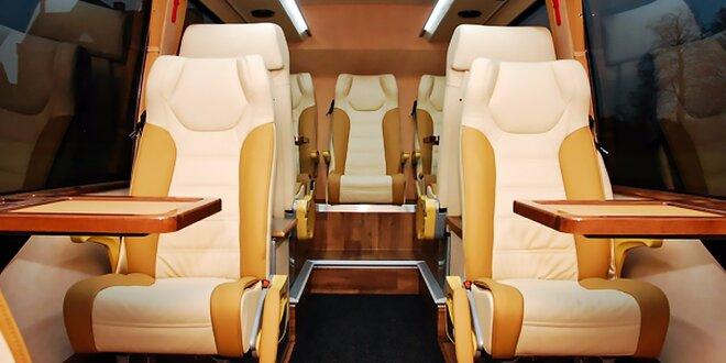 Mesačná VIP električenka! Luxusné miesta v nových autobusoch!