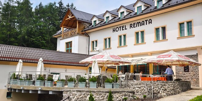 Wellness pobyt v Hoteli Remata***