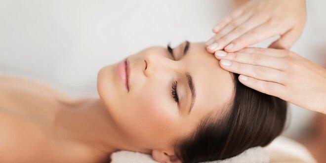 Mikromasáž očného okolia a liftingová masáž tváre s úpravou obočia