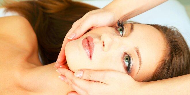 Vyživujúce hĺbkové ošetrenie pleti s kozmetickou masážou