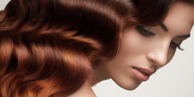 Keratínova kúra pre suché vlasy, farbenie alebo melír