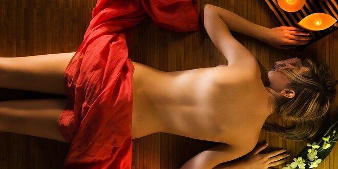 Relaxačná tantrická olejová masáž alebo nekonečná tantra