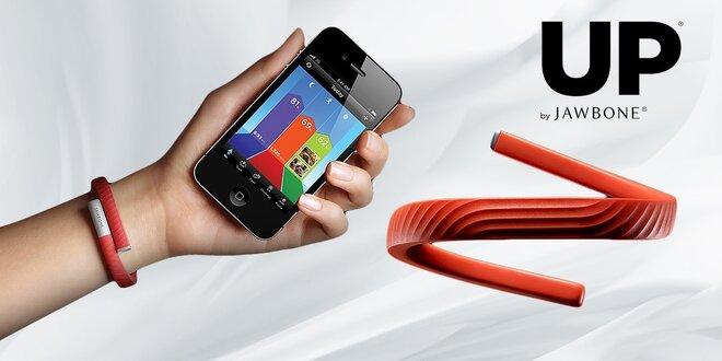 Inteligentný náramok Jawbone na monitoring vašej dennej aktivity