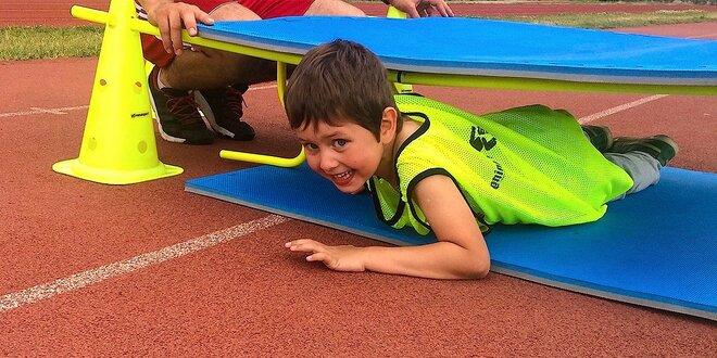 Detský pohybový denný tábor pre deti od 3 do 7 rokov. Leto 2016!
