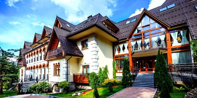Prvotriedny luxus v hoteli Belvedere**** v Zakopanom
