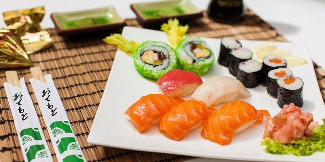 Výborné SUSHI v Sushi bare Sunshine v Auparku! Aj pre vegetariánov!