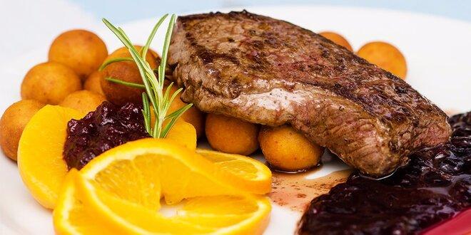 Exkluzívne menu v centre Starého mesta. Dajte si grilovaného lososa alebo…