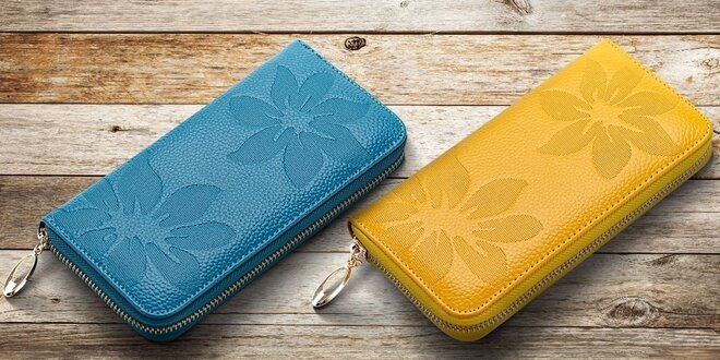 a5356e41e1 Elegantné dámske peňaženky z pravej kože