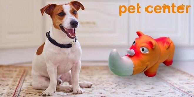 Pískacia latexová hračka pre psov od Huhubamboo