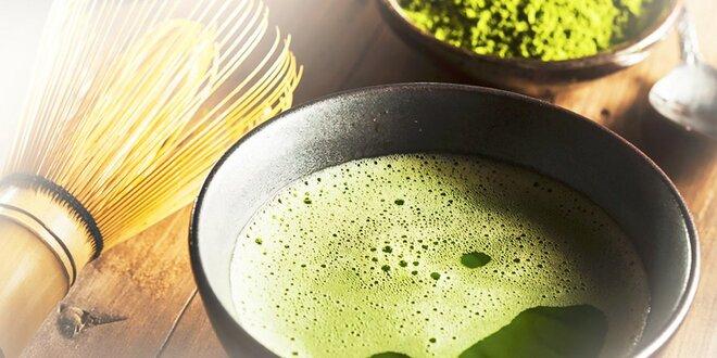 Zelený čaj Matcha na naštartovanie organizmu, poštovné a balné v cene