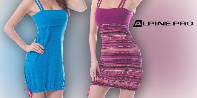 Dámske letné šaty na ramienka od Alpine Pro