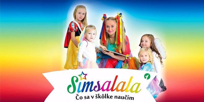 Hravé a náučné pesničky pre vaše detičky - CD SIMSALALA
