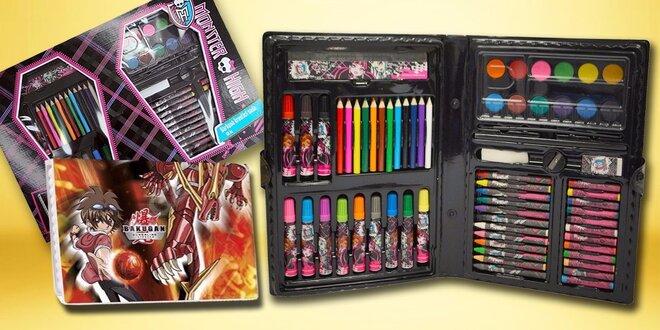 Kufríky Monster High a Bakugan pre malých výtvarníkov