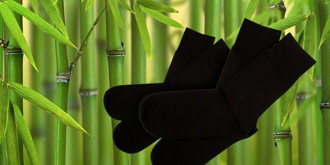 Kvalitné pánske bambusové ponožky