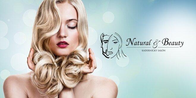 Farbenie, melír, strih alebo regenerácia vlasov