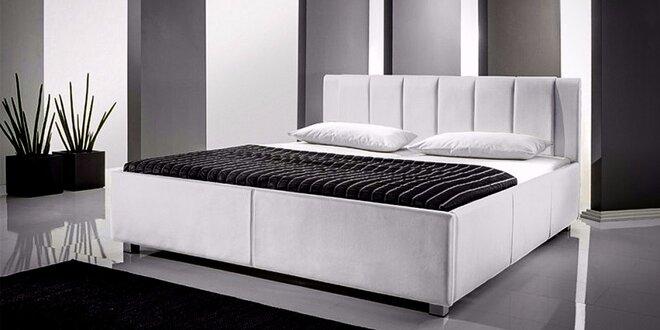 Koženkové postele za skvelé ceny