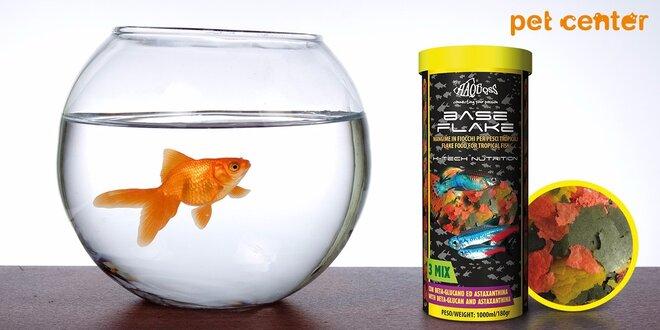 Vločkové krmivo Haquoss pre akvaríjne rybičky