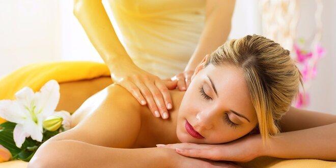 Klasická relaxačná masáž aj s možnosťou bankovania či zábalu