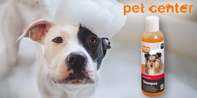 Psí šampón Karlie s makadamovým olejom pre žiarivú a zdravú srsť