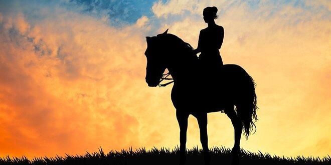 Lekcia jazdenia na koni s možnosťou vychádzky do prírody