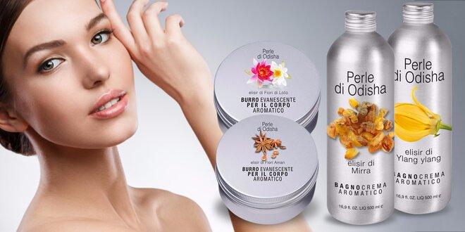 Luxusná talianska kozmetika s orientálnymi vôňami