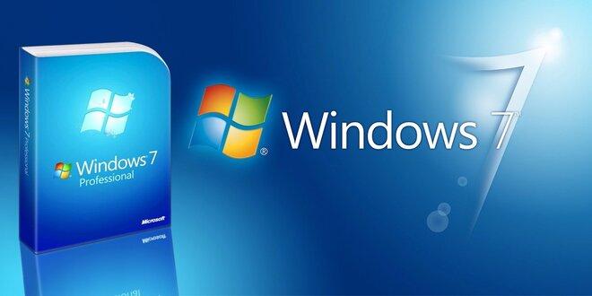 MS Windows 7 Professional za bezkonkurenčnú cenu!
