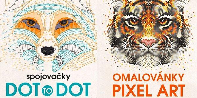 Spojovačky Dot to Dot alebo Omaľovánky Pixel Art