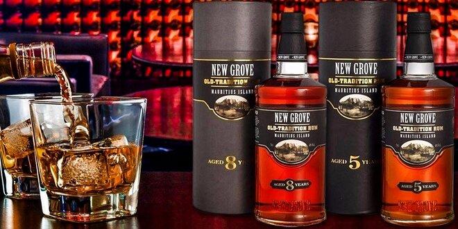 Špičkové rumy New Grove z ostrova Maurícius