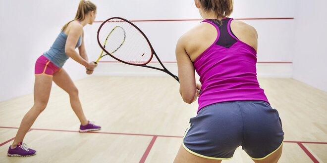 Hodinový prenájom squashového kurtu