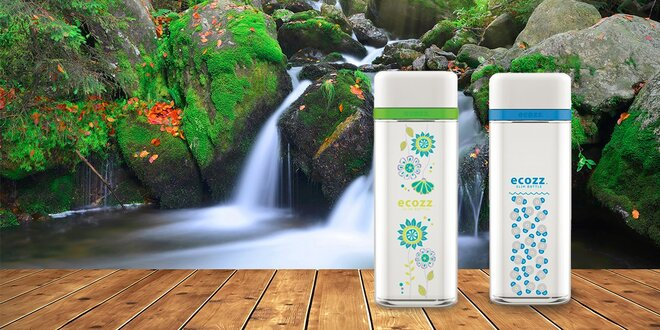 Originálne, zdravé a dizajnové ECO fľaše ECOZZ SlimBottle 500 ml
