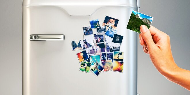 5 alebo 10 originálnych magnetiek s vašou fotografiou
