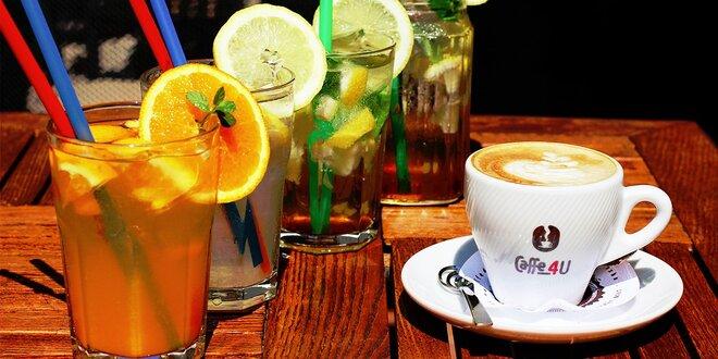 Luxusná exotická káva s dobrôtkou pod zub alebo exkluzívny studený čaj