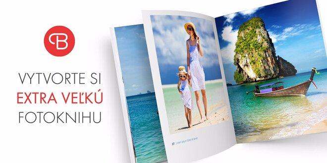 Vytvorte si EXTRA veľkú fotoknihu z fotiek z dovolenky, až 96 strán