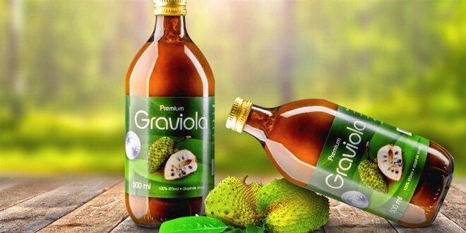 Zdravá šťáva Graviola: na nervy aj únavu