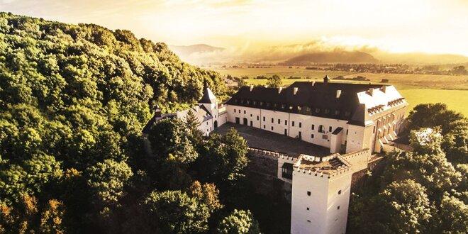 Bezstarostný relax vo wellnes na zámku Vígľaš