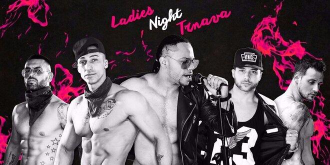 Vstupenka na Ladies night MEGASHOW 2016 v Trnave