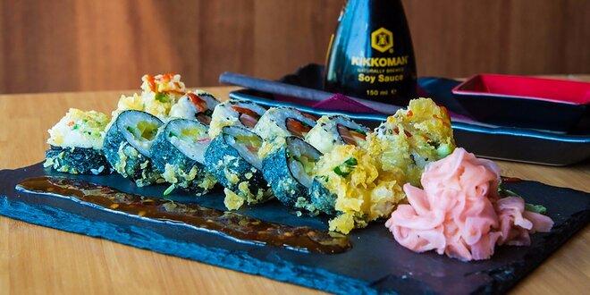 Pravé japonské sushi alebo denné menu