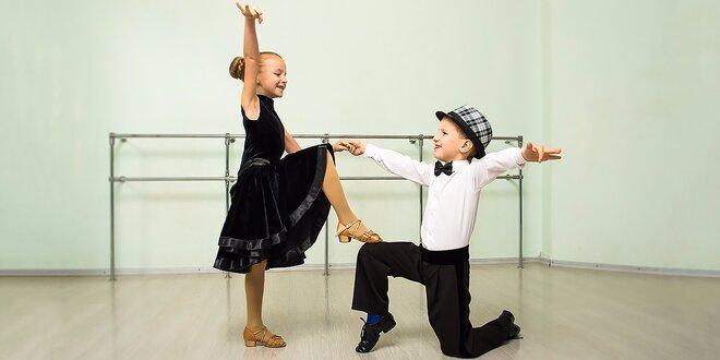 Detský denný tanečný tábor v Tanečnej škole Katky Štumpfovej