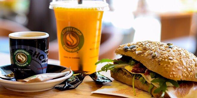 Štart do nového dňa - raňajkové menu v COFFEESHOP COMPANY