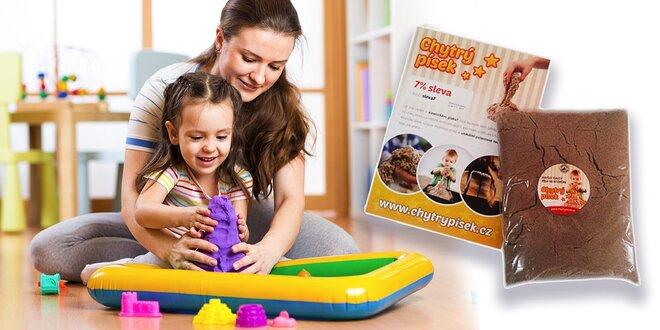 Kinetický piesok - revolučná hračka pre deti a dospelých