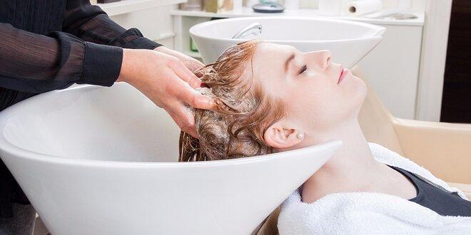Dámsky strih či farbenie s ošetrením vlasov Mythic Oil so záverečnou úpravou…