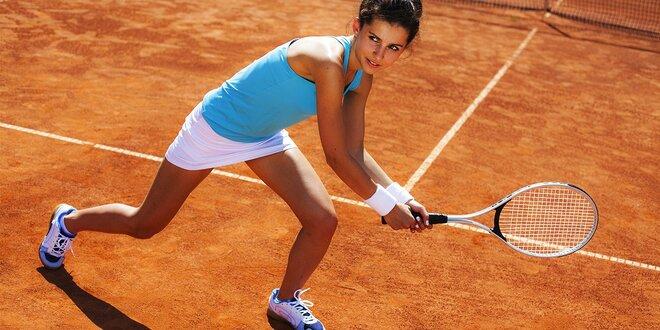 Prenájom tenisového kurtu - zapožičanie rakiet a loptičiek ZDARMA!