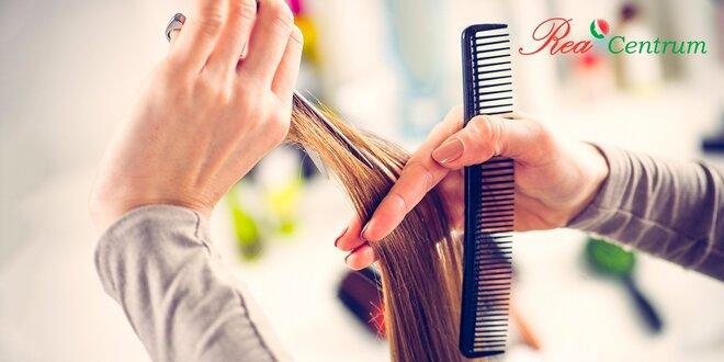 Profesionálny strih s vitamínovou maskou alebo farbenie vlasov