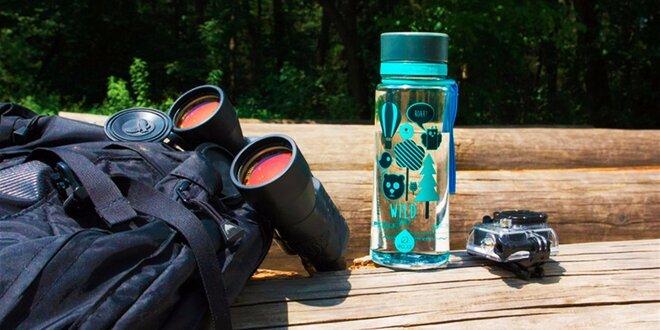Značkové ekologické fľaše EQUA so štýlovým dizajnom