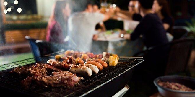 Tematické BBQ grilovačky aj s prílohami na švédskych stoloch! Svetová kuchyňa!