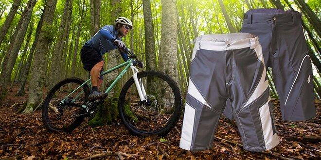 Kvalitné cyklistické nohavice Silver Wing