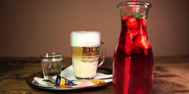 Káva alebo domáca limonáda v Kobyle