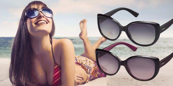 Ženské značkové slnečné okuliare POLAROID v modernom tvare Cat Eye