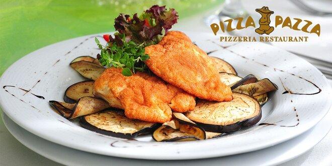 Sviatočné menu v talianskom štýle v PIZZA PAZZA